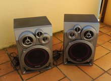 2x AIWA Stereo System Speakers in Stuttgart, GE