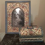 Picture frame and matching jewelry box in Camp Pendleton, California