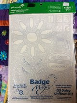 Girl Scout Daisy Badge Adhesive in Naperville, Illinois