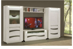 United Furniture - Wave - Entertainment 53 inch TV. Section - includes delivery in Spangdahlem, Germany