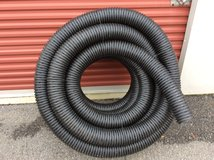 100 foot roll corrugated drain pipe used for French drains in Beaufort, South Carolina