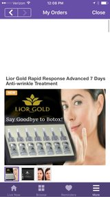 Lior Gold Rapid Response Advanced 7 Days Anti-wrinkle Treatment in Macon, Georgia