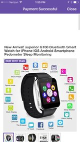 New Arrival! superior GT08 Bluetooth Smart Watch for iPhone IOS Android Smartphone Pedometer Sle... in Perry, Georgia