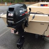 14 ft. 2016 Coastal 145 with a 2016 Suzuki 9.9 hp motor and 2016 trailer in Camp Lejeune, North Carolina