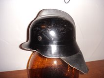 German 1940's - 1960's Police Fire Fighter Helmet in Lakenheath, UK