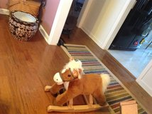 Stuffed Rocking Horse in Fort Campbell, Kentucky