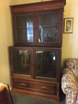 Chestnut Display Cabinet in Naperville, Illinois