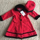 Toddler Fleece Coat w/Matching Hat-2T in Aurora, Illinois