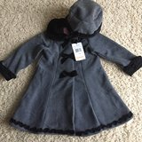 Toddler Fleece Coat w/Matching Hat-3T in Aurora, Illinois