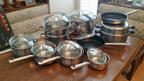 Stainless cook set in Tampa, Florida