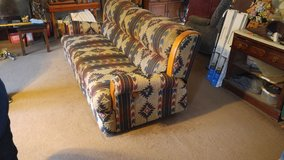 couch  southwestern pattern good condition in Fort Bragg, North Carolina