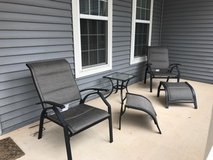 Lawn Chairs and Table in Bolling AFB, DC