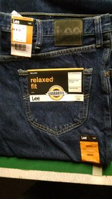 Brand New Lee Relaxed Fit Blue Jeans in Morris, Illinois