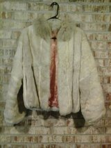 waist length rabbit fur coat in Macon, Georgia