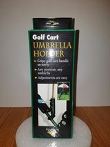NIB! GOLF CART UMBRELLA HOLDER in Bolingbrook, Illinois