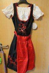Geman dirndl with apron and short blouse in Fort Benning, Georgia