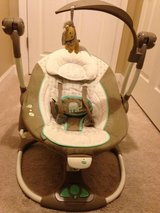 Ingenuity Musical Baby Swing with Vibrating Seat Option in Columbus, Georgia