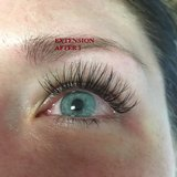 OKINAWA JEWEL EYELASH EXTENSION(5000YEN) AND EYEBROW THREADING(1000YEN) in Okinawa, Japan
