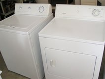 Washer and Dryer Frigidaire-Giant tub-3 Months guarantee in Perry, Georgia