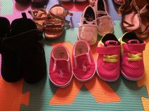 14  pairs of Baby shoes size size 2 and 3 in Leesville, Louisiana