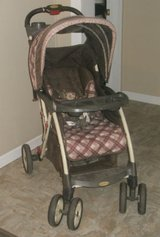 BABY TREND STROLLER with EXTRAS in Camp Lejeune, North Carolina
