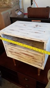 Distressed end table in Lake Elsinore, California
