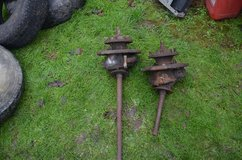 Landover Series 3 front swivel hubs spares or repair £35.00 for the pair in Lakenheath, UK