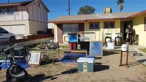 Yard sale sat and sunday in Barstow, California