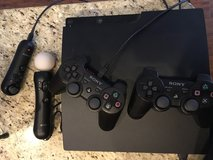 PlayStation 3 (PS3) with 2 controllers in Byron, Georgia
