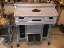 One of a kind, vintage organ made into a bar in Kingwood, Texas