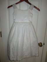 Girls' First Communion Dresses Speacial Occassion Flower Girl Easter Dresses size 6 & 3/4 in Plainfield, Illinois