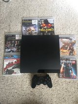 PS3 play station 3 with 6 games in Fort Carson, Colorado
