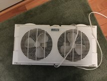 "Lasko Products 7"" Twin Window Fan 2137 in Glendale Heights, Illinois"
