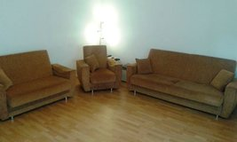 Living room set (3 and 2 seater love seat plus armchair) in Ramstein, Germany
