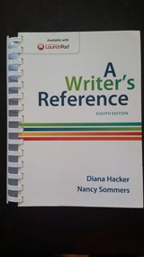 A Writer's Reference 8th Edition in Vista, California