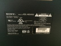 Sony Bravia KDL-46S4100 46-inch TV in Fort Campbell, Kentucky