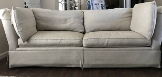 Restoration Hardware Long couch in Fairfield, California