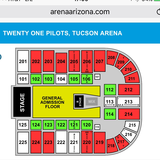 21 pilots concert tickets in Davis-Monthan AFB, Arizona
