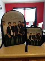 1D BackPack & Matching LunchBag in Watertown, New York
