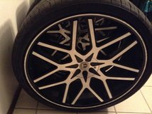 """26"""" rims and tires truck only in Lawton, Oklahoma"""
