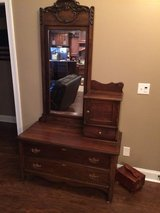 Antique dresser with mirror in Cochran, Georgia