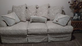 Beautiful white couch in Fort Irwin, California