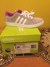 Adidas girl shoes sz 13K brand new in Morris, Illinois