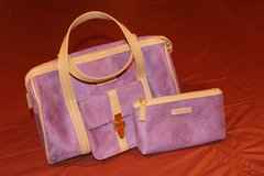 Purple 2piece Cosmetic Bag Set in Fort Leonard Wood, Missouri
