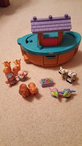 Fisher Price Noah's Ark Complete with animals in Naperville, Illinois