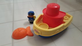Fisher Price Bathtub boat in Yorkville, Illinois