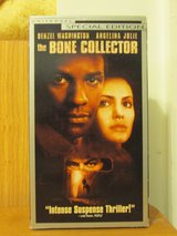 VHS Movie - The Bone Collector in Camp Lejeune, North Carolina