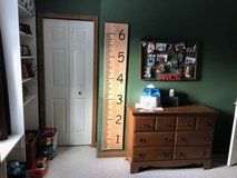 Wall rulers to measure your kids as they grow up in Chicago, Illinois