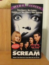 VHS Movie - Scream in Camp Lejeune, North Carolina