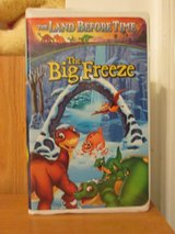 VHS Movie - The Land Before Time The Big Freeze in Cherry Point, North Carolina